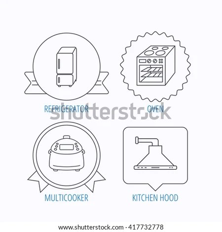 Vector Images, Illustrations and Cliparts: Refrigerator