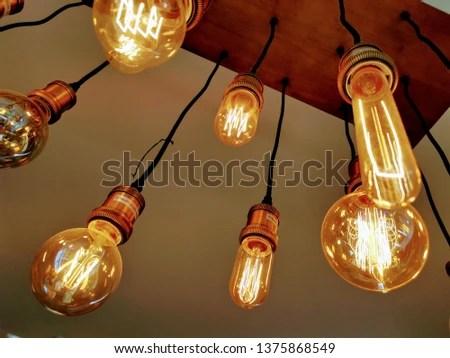 chandalier light bulb interior