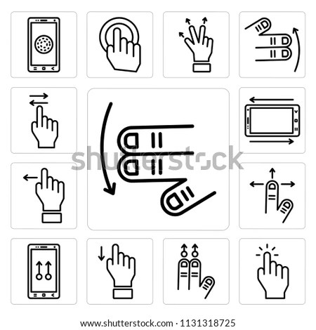 Vector Images, Illustrations and Cliparts: Set Of 13