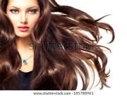 popular free black long hair model