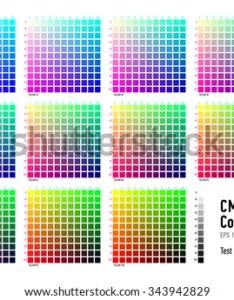 Cmyk press color chart also download free vector art stock graphics  images rh vecteezy