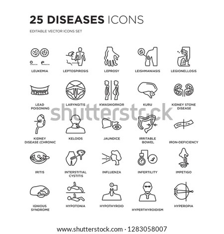 Vector set of 16 icons related to… Stock Photo 329261312