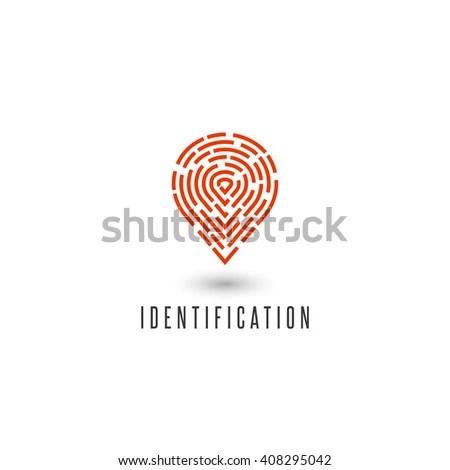 Identification Personal Fingerprint Creative Idea
