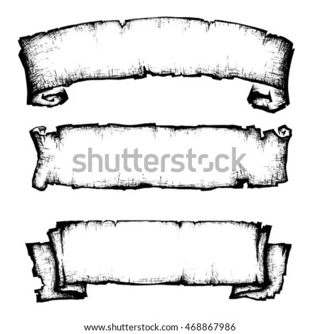 Royalty Free Stock Photos and Images: scroll paper banner