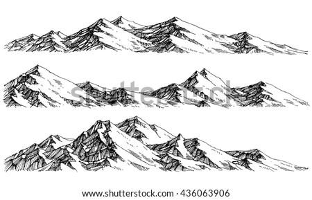 Get Free Stock Photo of Jagged mountain range Online