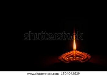 Clay Oil Lamp Clipart Black And White 4