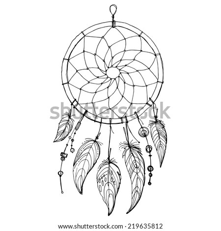 Easy Drawings How To Draw A Dream Catcher Really Easy Drawing Dream Catcher Clipart Stunning Free Transparent Png Clipart Images Free Download