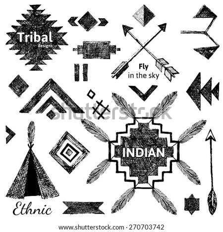 Native American Cherokee Symbols And Signs Native American