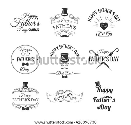 Set of vintage barber shop emblems,… Stock Photo 251007844