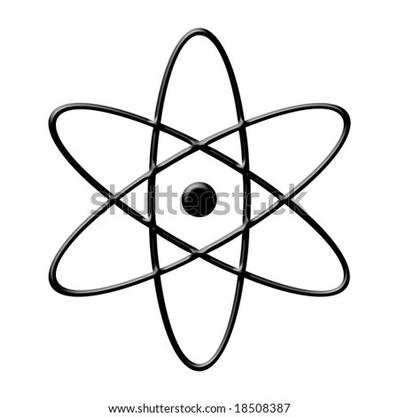 Atom Symbol Stock Photo 18508387 : Shutterstock