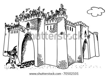 Pied Piper Of Hamelin Stock Vector Illustration 70502101