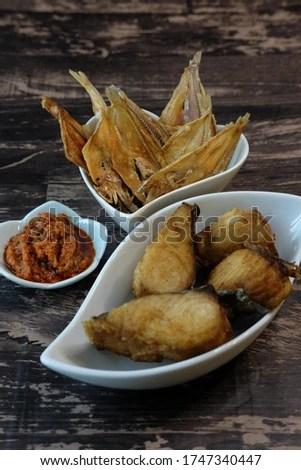 Ikan Asin Goreng : goreng, Shutterstock, PuzzlePix