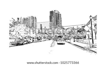 Royalty-free Singapore skyline #125171423 Stock Photo
