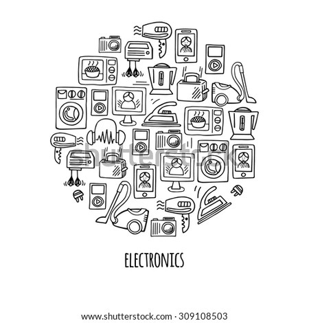 Royalty Free Stock Photos and Images: Home electronics