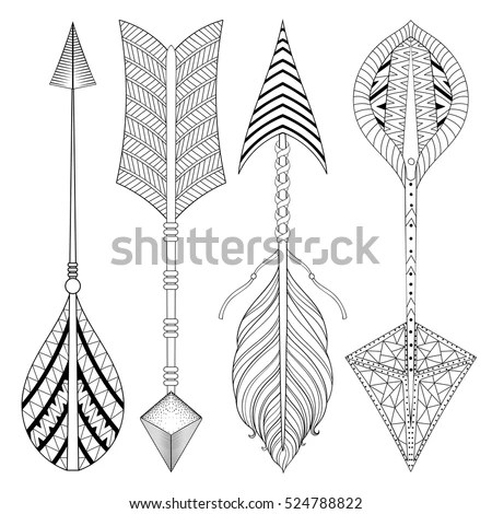 Vector Images, Illustrations and Cliparts: Boho chic