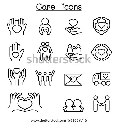 Vector Images, Illustrations and Cliparts: Care, Charity