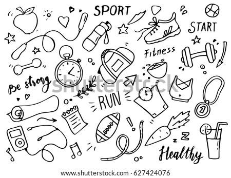 Gymnastic Silhouettes SportsActivity Conceptual Card Tutorials