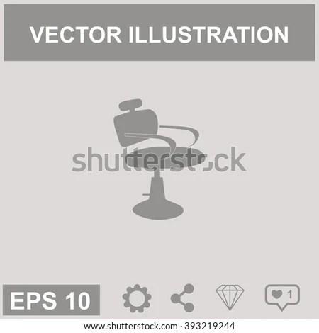 ez chair barber covers unique icon canvas
