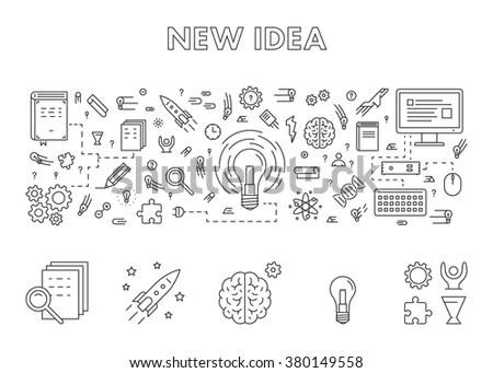 Engine Innovation Graphic Innovation Process Wiring