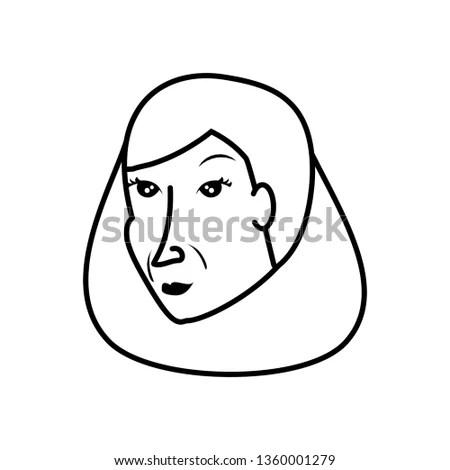 George Washington Vector Cartoon Clip… Stock Photo