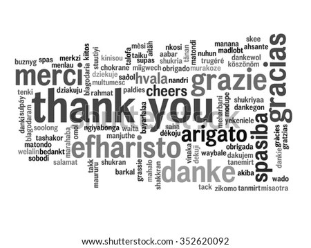 Royalty-free Thank You Word Cloud in different… #231272458