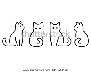 Halloween Black Cats Clip Art Simple Cat Clipart Stunning free transparent png clipart images free download