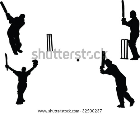 Cricket Vector Images