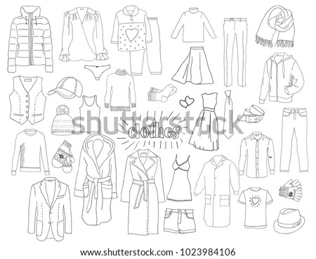 Vector illustration of packing for… Stock Photo 327962021
