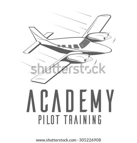 Private pilot Free Vector / 4Vector