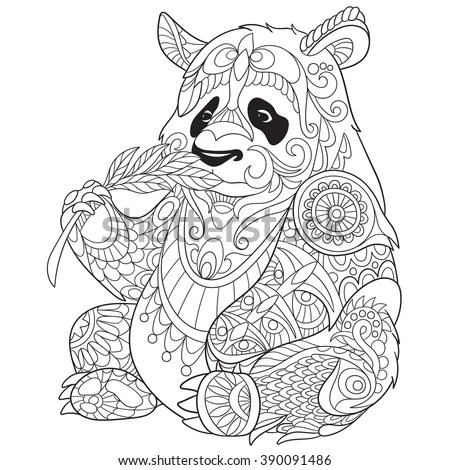Coloring page for adult and older… Stock Photo 406981600