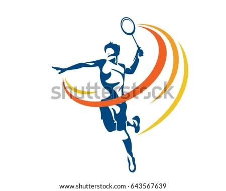 18 Badminton Clip Art Vectors Download Free Vector Art