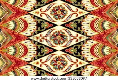 Free Vector Seamless Batik Pattern  Download Free Vector