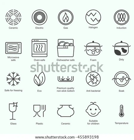 Vector Images, Illustrations and Cliparts: Symbols of food