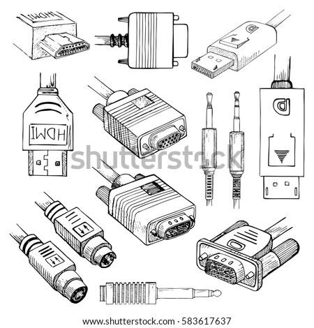 Vga To Hdmi Connector Vga Dsub Wiring Diagram ~ Odicis