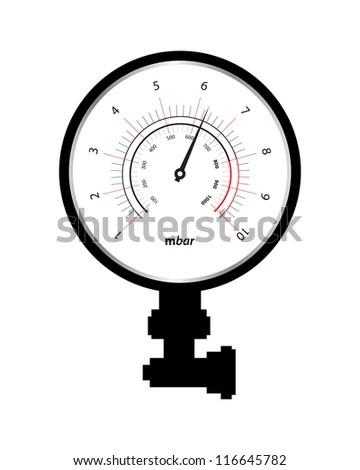 Manometer Symbol