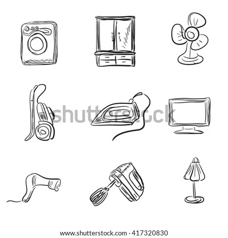 Vector Images, Illustrations and Cliparts: Kitchen