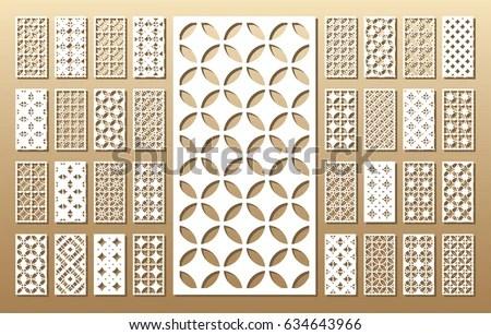 laser cut pattern vectors