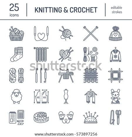 Find free knitting images, stock photos and illustration