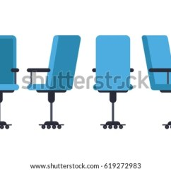 Office Chair Vector Desk Heavy Duty Adirondack Beach Free Download Art Stock Or In Various Points Of View Armchair Stool Front