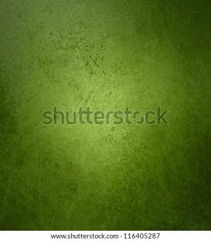 abstract green background aged design with vintage grunge background texture layout, old Christmas background paper, distressed sponge design in green colors for brochure ad poster or website backdrop - stock photo