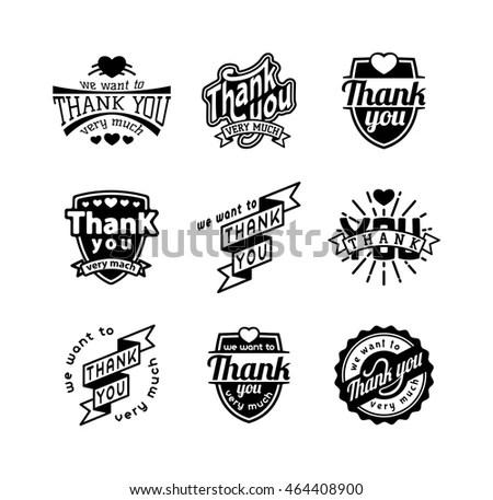Rock Music Styles Genres Logotypes Set… Stock Photo