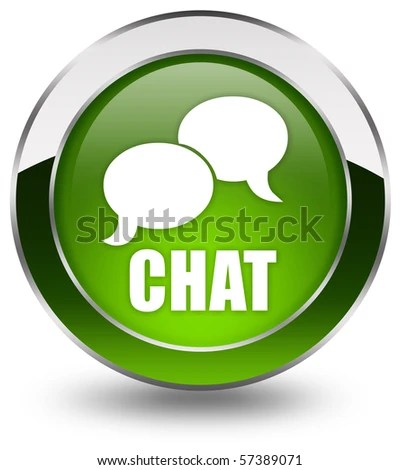 stock photo : Chat icon