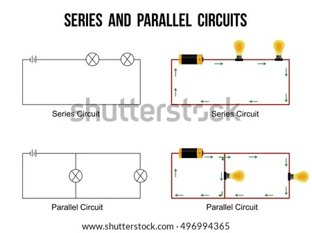 motor control wiring diagram symbols seymour duncan invader pickup electronic circuit symbol vectors download free vector art stock series and parallel circuits on white background helpful for basic education schools