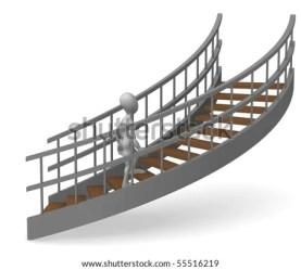 cartoon stairs render character 3d shutterstock staircase modern