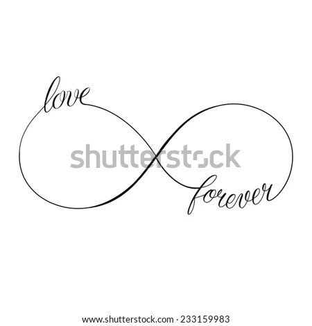 Royalty-free Love Forever icon valentines day vector