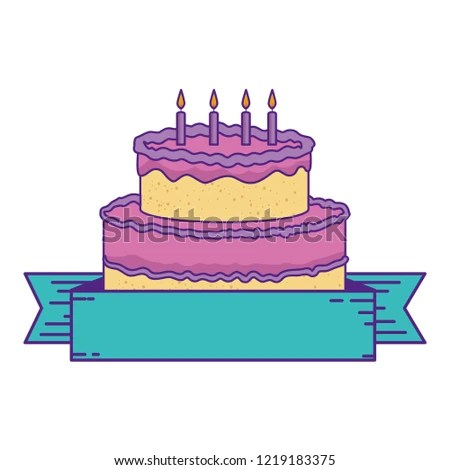 Royalty Free Happy Birthday Banner Decorated With A 212400337