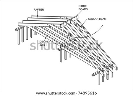 Roof Construction: Japanese Roof Construction Detail