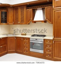 The New Kitchen Room, Modern Design Stock Photo 73816372 ...