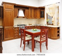 The New Kitchen Room, Modern Design Stock Photo 74056636 ...