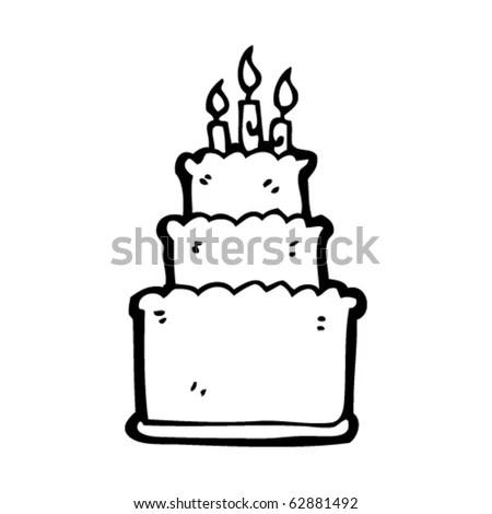 juliayunwonder: birthday cake cartoon